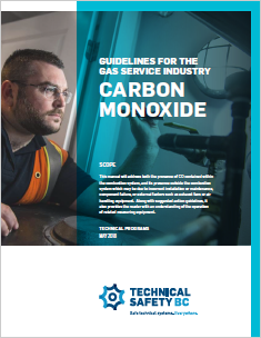 Guidelines for the Gas Service Industry - Carbon Monoxide