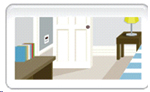 Hazard Check Virtual House Safety Game Image.
