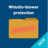 Whistle-blower protection