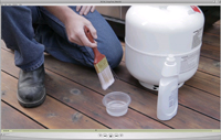 1 minute 49 seconds video on how to perform the soap test on your propane cylinder