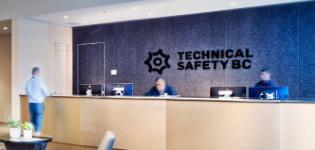 Technical Safety BC reception area