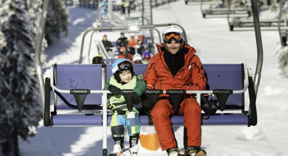 Kids chairlift safety