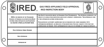Gas Certification Mark 11